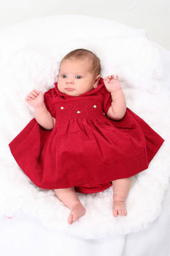 Our Spokesgal - Infant!